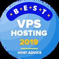 Tilldelas företag som har tagit sig in på listan över de 10 bästa webbhotellen med virtuell server.