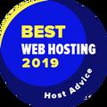 Tilldelas företag som har tagit sig in på listan över de 10 bästa webbhotellen.