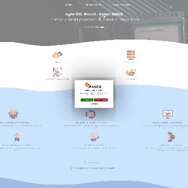 Ikoula HomePage Screenshot